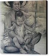 Le Bain Canvas Print