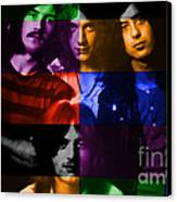 Led Zeppelin Canvas Print by Marvin Blaine