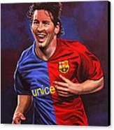 Lionel Messi  Canvas Print by Paul Meijering