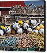 Lobster Fishing Canvas Print by Elena Elisseeva