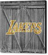 Los Angeles Lakers Canvas Print