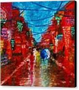 Lungkot Sa Likod Ng Pahiyas Canvas Print