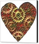 Mechanical Heart Canvas Print by Michal Boubin