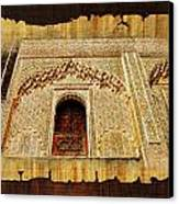 Medina Of Faz Canvas Print