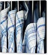 Men's Shirts Canvas Print by Tom Gowanlock