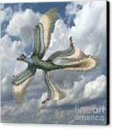 Microraptor Canvas Print