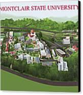 Montclair State University Canvas Print by Rhett and Sherry  Erb