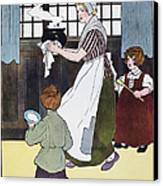 Mother Goose, 1916 Canvas Print