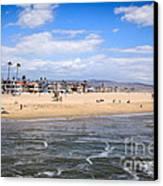 Newport Beach In Orange County California Canvas Print