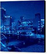 Night Shoot Canvas Print by JJ Cross