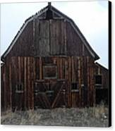 Old Barn Canvas Print by Yvette Pichette