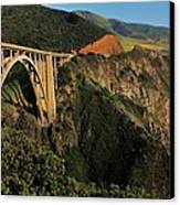 Pacific Coast Highway Canvas Print by Benjamin Yeager