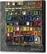 Paint Box Canvas Print by Bernard Jaubert