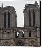 Paris France - Notre Dame De Paris - 01133 Canvas Print