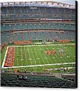 Paul Brown Stadium Canvas Print by Dan Sproul