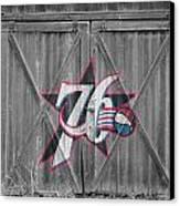 Philadelphia 76ers Canvas Print