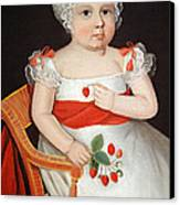 Phillips' The Strawberry Girl Canvas Print by Cora Wandel