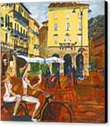 Piazza De Como Canvas Print