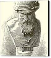 Plato  Canvas Print by English School