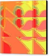 Red Effect Canvas Print by David Skrypnyk