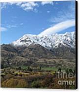 Remarkables Mountains Canvas Print