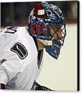 Roberto Luongo Canvas Print by Don Olea