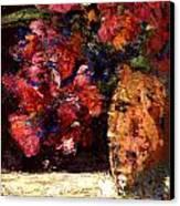 Roses Canvas Print by Daniel Bonnell