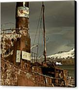 Rusted Whaling Boats Canvas Print by Amanda Stadther