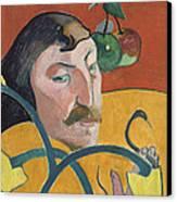 Self Portrait Canvas Print by Paul Gauguin