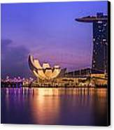 Singapore City Canvas Print