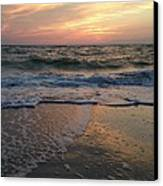 Slanted Setting 2 Canvas Print by K Simmons Luna
