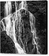 Smokey Waterfall Canvas Print by Jon Glaser