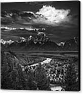 Snake River Overlook Canvas Print by Andrew Soundarajan