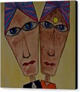 Soulmates Canvas Print by Shruti Prasad