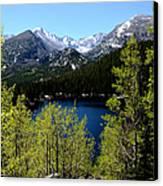 Spring At Bear Lake Canvas Print