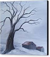 Standing Alone Canvas Print by Glenda Barrett
