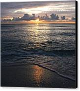 Sunrise Canvas Print by Roque Rodriguez