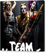 Team Violence Canvas Print