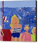 The Beach Girls Canvas Print
