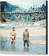 The Bridge On The River Kwai Canvas Print by Silver Screen