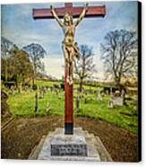 The Cross Canvas Print by Adrian Evans