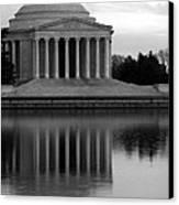The Jefferson Memorial Canvas Print by Cora Wandel