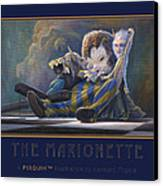 The Marionette Canvas Print by Leonard Filgate