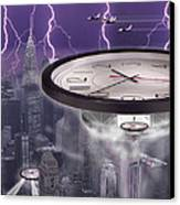 Time Travelers 2 Canvas Print by Mike McGlothlen