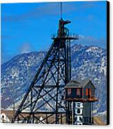 Travona Mine  Canvas Print by Kevin Bone