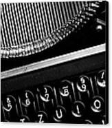 Typewriter Canvas Print by Falko Follert