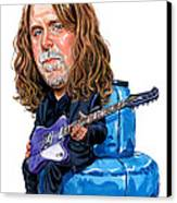Warren Haynes Canvas Print by Art