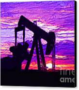 West Texas Intermediate Canvas Print by GCannon