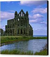 Whitby Abbey Canvas Print by Trevor Kersley