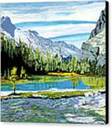 Yoho Valley Canvas Print by David Skrypnyk
